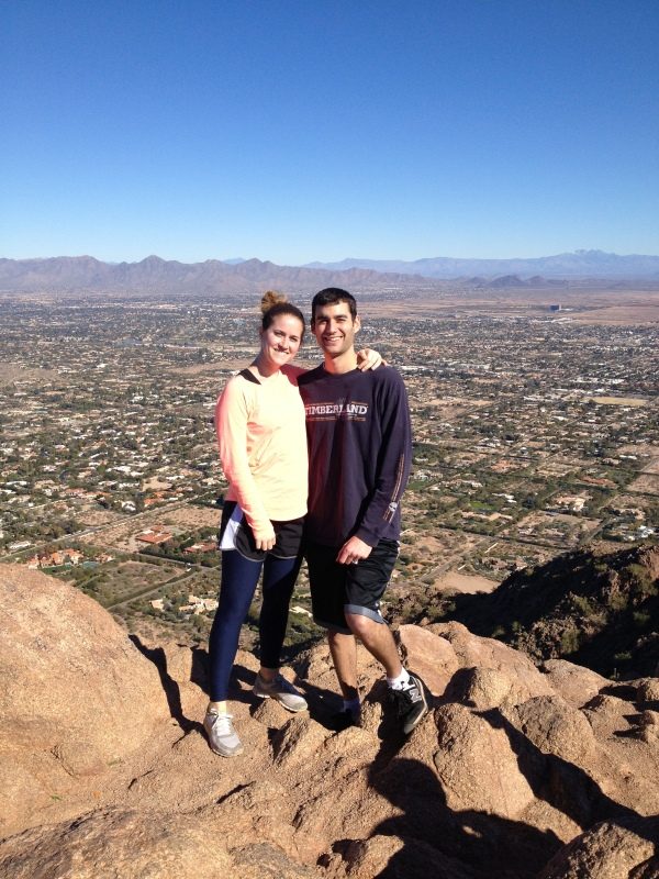 Camelback Mountain, AZ, New Year's Day 2013